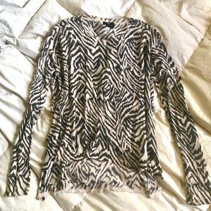 UNAVAILABLE ❌ H&M | Tiger Animal Print Light Sweater